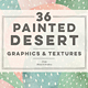 36 Painted Desert & Cactus Background Graphics - GraphicRiver Item for Sale
