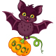 Bat for Halloween - GraphicRiver Item for Sale