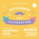 Movember Flyer Set