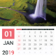 2019 Calendar - GraphicRiver Item for Sale