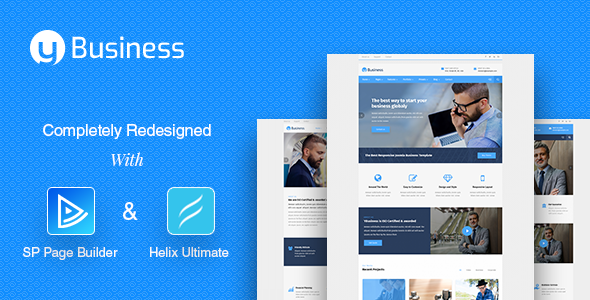 Ybusiness Responsive Joomla Business Template By Tripples