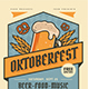 Oktoberfest Event Flyer - GraphicRiver Item for Sale