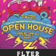 Open House Elastic Flyer Template