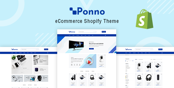 Electronics Shopify Theme – Ponno