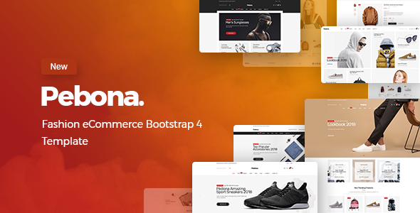 Pebona - Fashion eCommerce Bootstrap 4 Template - Fashion Retail