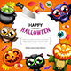 Happy Halloween BG with Copy Space - GraphicRiver Item for Sale