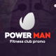 PowerMan - Fitness Club Promo - VideoHive Item for Sale