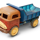 Old plastic toy, generic auto truck - PhotoDune Item for Sale