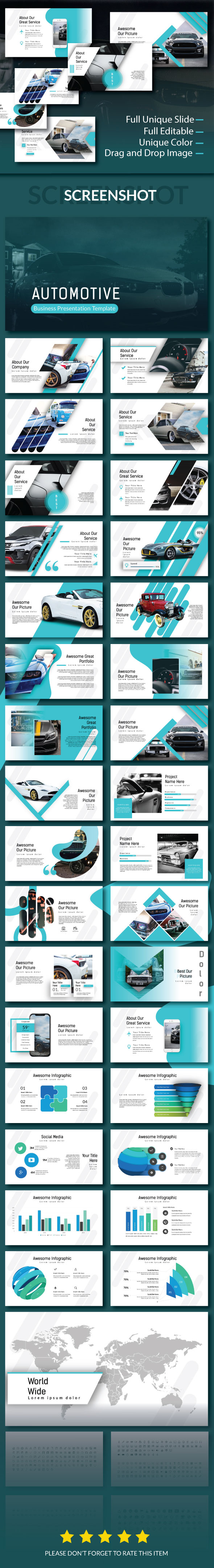 Automotive powerpoint template by spesifikstudio graphicriver automotive powerpoint template powerpoint templates presentation templates toneelgroepblik Images