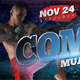 Combat Boxing Muay Thai Ticket - GraphicRiver Item for Sale