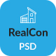 RealCon - Real Estate Property Business PSD Template - ThemeForest Item for Sale
