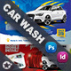 Car Wash Postcard Bundle Templates - GraphicRiver Item for Sale