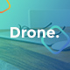 Drone Creative Minimal Google Slides - GraphicRiver Item for Sale