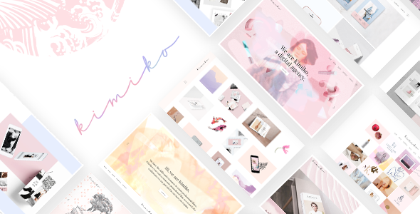 kimiko - alluring portfolio theme for creatives (portfolio) Kimiko – Alluring Portfolio Theme for Creatives (Portfolio) 00 preview