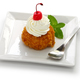 homemade fried ice cream isolated on white background - PhotoDune Item for Sale