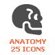 Free Download Human Anatomy Filled Icon Nulled