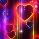 Heart Colorful Neon Background - VideoHive Item for Sale