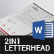 Free Download Letterhead Bundle - 2in1 Nulled