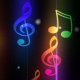 Music Notes Colorful Background - VideoHive Item for Sale