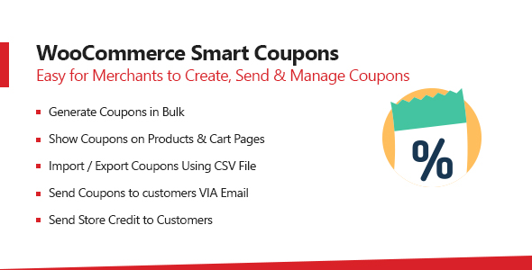 WooCommerce Smart Coupons Plugin – Extended Coupon Code