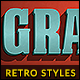 Free Download 10 Retro Text Styles vol. 05 Nulled