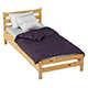 Bed Karelia HOFF - 3DOcean Item for Sale