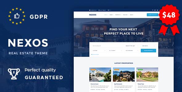 Nexos - Real Estate Agency Directory - Real Estate WordPress