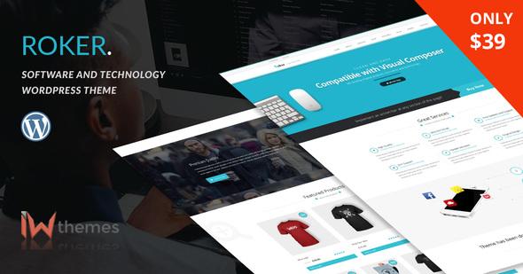 Software WordPress Theme | Roker - Software Technology
