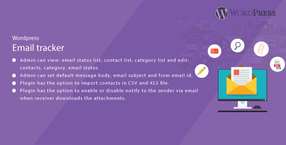 WordPress Email Tracker            Nulled