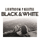 Black & White Lightroom Presets - GraphicRiver Item for Sale