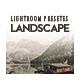 20 Landscape Lightroom Presets - GraphicRiver Item for Sale