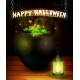 Halloween Pumpkin Realistic with Heat - GraphicRiver Item for Sale