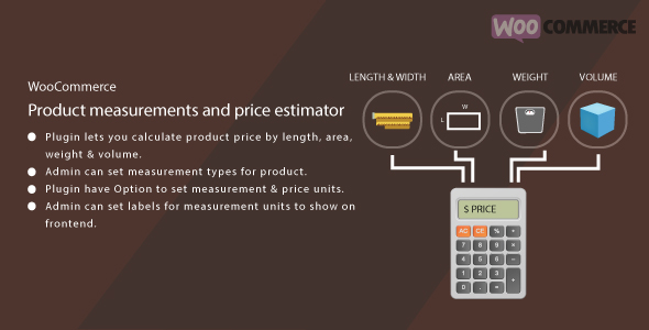 WordPress WooCommerce Measurement Price Estimator            Nulled