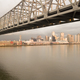 New Orleans Aerial View Under the Highway Bridge Deck Over the Mississippi - PhotoDune Item for Sale