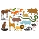 Wild Baby Animals - GraphicRiver Item for Sale