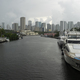 Yacht in Ship Canal  Hurricane Season Miami Florida - PhotoDune Item for Sale