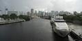 Yacht in Ship Canal  Hurricane Season Miami Florida - PhotoDune Item for Sale