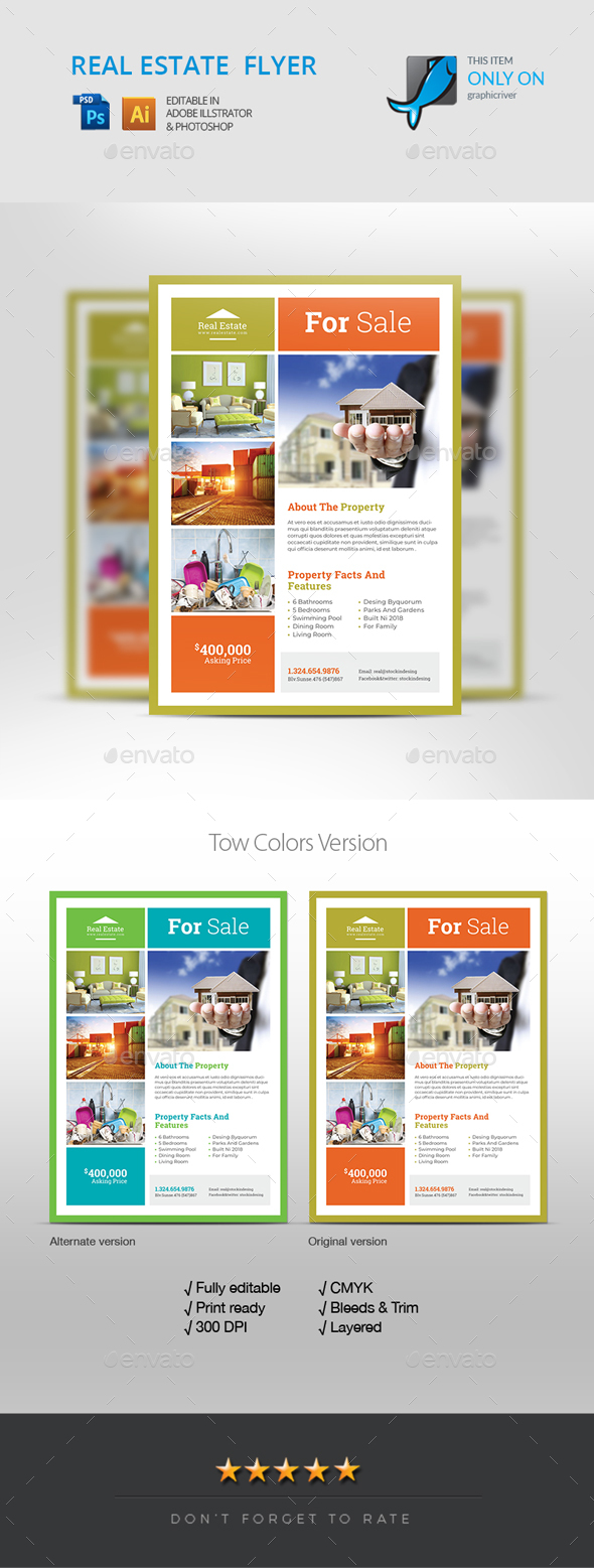 Realestate Flyer - Corporate Flyers