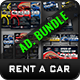 Rent a Car Advertising Bundle Vol.3 - GraphicRiver Item for Sale