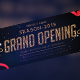 Grand Opening Facebook Cover