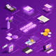 Payment Methods Isometric Flowchart - GraphicRiver Item for Sale
