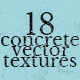 Concrete Vector Texture Pack Vol. 1
