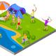 Outdoor Activities Composition