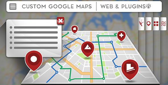 UTD Google maps - Customizable Google Maps for WordPress - CodeCanyon Item for Sale