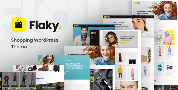 Flaky - A Responsive WooCommerce Theme for Online Shopping Websites