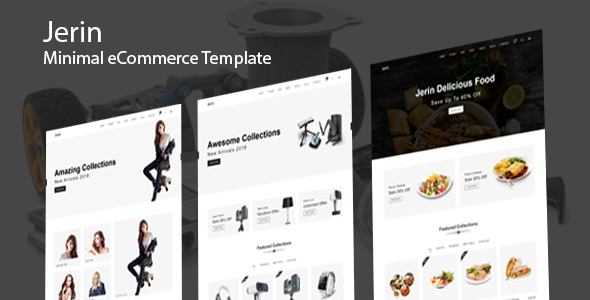Jerin - Minimal eCommerce HTML Template Free Download | Nulled