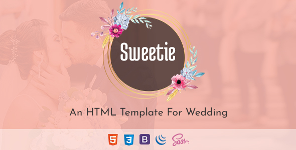 Sweetie - Responsive HTML Wedding Template