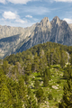 Aigues tortes national park. Forest and peaks landscape. Spain - PhotoDune Item for Sale