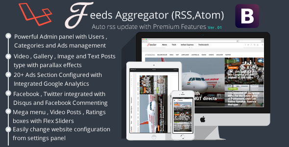RSS Aggregator - Premium Version            Nulled