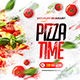Pizza Time Flyer - GraphicRiver Item for Sale